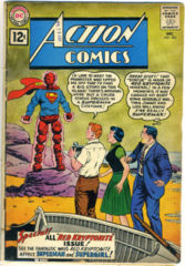 ACTION COMICS #283 © 1961 DC Comics
