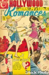 Hollywood Romances #57 © February 1971 charlton