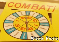 Combat The Fighting Infantry Game Spinner
