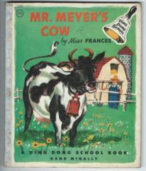 Ding Dong School Mr. Meyer's Cow.© 1955 Rand McNally 220