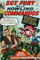 Sgt. Fury and the Howling Commandos #001 © May 1963 Marvel Comics