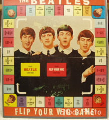 Beatles Flip Your Wig Game Board