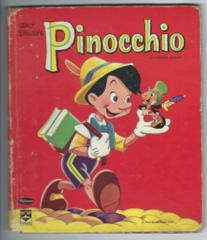 Walt Disney's Pinocchio © 1961 Whitman, Top-Top-Tales #2459