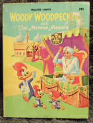 Woody Woodpecker and the Meteor Menace © 1967 Big Little Books 5753-2
