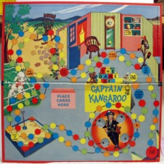Captain Kangaroo Game Board