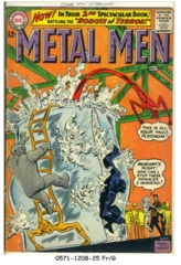 Metal Men #02 © June-July 1963 DC Comics