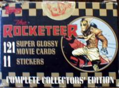 ROCKETEER BOXED CARD SET © 1991 Topps 121/11