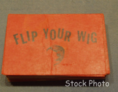 Beatles Flip Your Wig; Wig Card