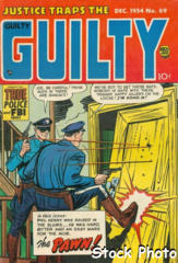 Justice Traps the Guilty #69 © December 1954 Prize Group