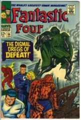 FANTASTIC FOUR #058 © January 1967 Marvel Comics