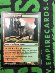 Artist Proof - Magic: the Gathering Gatecrash Stomping Ground *David Palumbo 4/50*