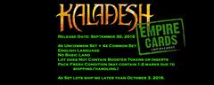 *Kaladesh 4x Common Set + 4x Uncommon Set!