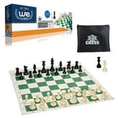 Chess Tournament Roll Up Set & Case