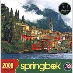 Springbok Puzzle - Mediterranean Waterfront - 2000 piece