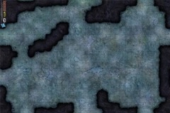 Dungeons and Dragons RPG: Fungal Cavern Vinyl Campaign Mat