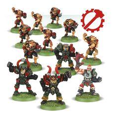 Blood Bowl Chaos Chosen Team