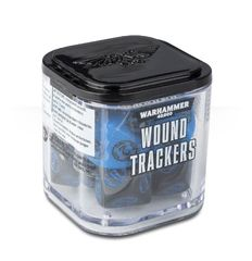 Warhammer 40000: Wound Trackers - Blue - Red - Green - White - Ivory
