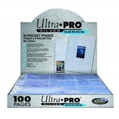 Ultra Pro - Silver Series - 9 pocket Pages
