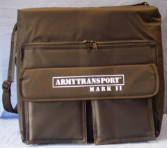 Army Transport Mark ll empty Miniature Foam carrying case
