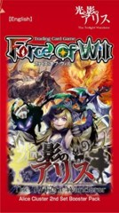 FoW Force of Will TCG: The Twilight Wanderer Booster Pack
