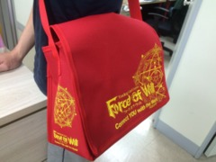 Force of Will TCG: A3 Promotional Bag