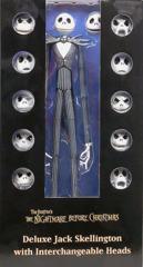 Deluxe Jack Skellington with Interchangeable Heads