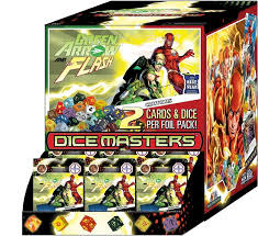 Dice Masters -  Green Arrow and The Flash - Gravity Feed Display