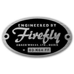 Engineered by Firefly sticker