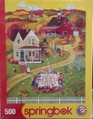Springbok Puzzle - quilting bee's - pieces 500