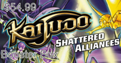 Kaijudo Shattered Alliances Booster Pack