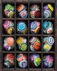 Springbok Puzzle - Colorful Caps - 1000 piece