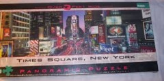Times Square, New York - Panoramic Puzzle