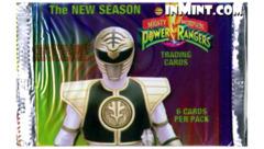 power rangers cards