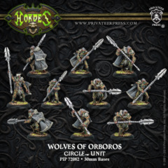 Circle of Orboros: Wolves of Orboros (10 plastic)