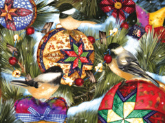 BIRDS AND ORNAMENTS