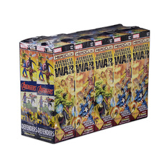 Marvel HeroClix: Avengers/Defenders War Booster Brick