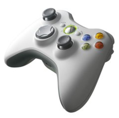 Accessory: Controller Wireless White Xbox 360