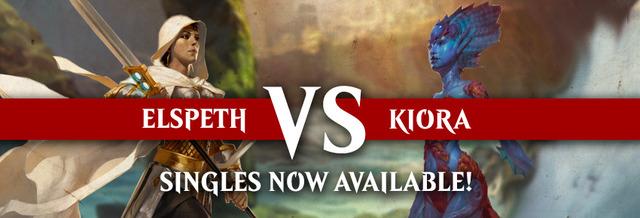 Elspeth vs Kiora