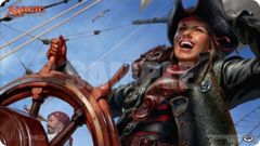 Ultra Pro - Playmat Mtg Ixalan - Captain Lannery Storm