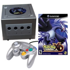 Nintendo GameCube System Pokemon XD Limited Edition With Game