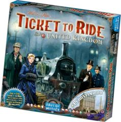 Ticket to Ride United Kingdom Map Collection 5