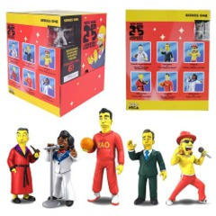 The Simpsons 25th Anniversary 2-inch Mini Figures Series 1