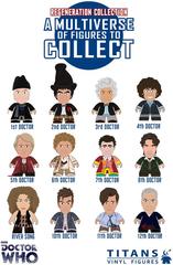 Doctor Who Titan Vinyl Figures Series 6