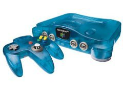 Nintendo 64 LE Blue System With Expansion