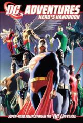 DC Adventures RPG Heroes Handbook Core Rulebook