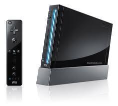 Nintendo Wii Black System