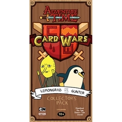 Adventure Time: Card Wars Lemongrab vs. Gunter