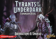 Dungeons & Dragons: Tyrants of the Underdark Board Game - Aberrations & Undead Expansion Decks