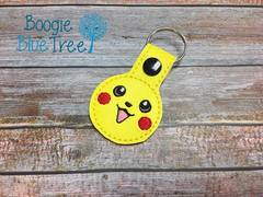 Snap-Tab Keychain Pikachu
