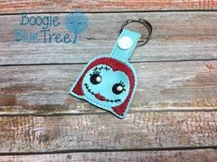 Snap-Tab Keychain Sally